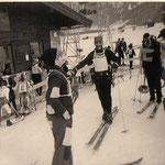 Faschingsschifahren Mitter der 60-iger Jahre