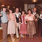 Christian Bucher und Gewinner vom Dorf Cup in den 70iger Jahren