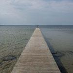 Traumhafte Küste auf der Insel Saareema, Estland