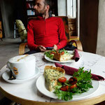 Zweites Frühstück in Haapsaalu, Estland