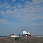 Ferry to Muhu, Estonia