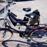 Zweiräder. Helsinki, Finnland