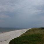 Auch hier ein perfekter Strand der Kurischen Nehrung, Litauen