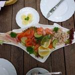 Und noch mehr lecker baltisches Essen. Lettland