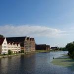 Start unserer Fahrradtour durchs Baltikum in Danzig/Gdansk, Polen