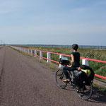 Dammweg nach Saareema, Estland