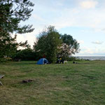 Campground in Tuja, Latvia