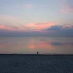 Und noch ein perfekter Strand auf der Kurischen Nehrung. Kaliningrad, Russland