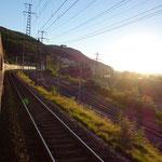 Zugfahrt von Zürich nach Berlin