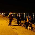 Abend mit unseren Gastgebern in Klaipeda, Litauen