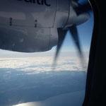 Rückflug von Helsinki nach Zürich
