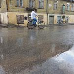 Regentag, Kuldiga, Lettland