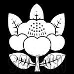 水天宮 神紋 椿