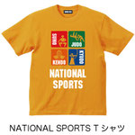 NATIONAL SPORTS Tシャツ