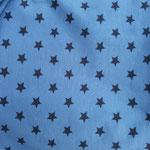 Sterne jeansblau
