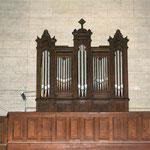 l'orgue,