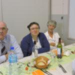 Paul Signoirt, Marie-Ange Sallier et Denise Barreaud