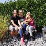 Ylvi mit Britta, Emma und Anni am 24.9.2016
