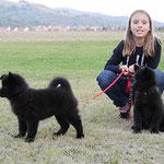 Celine mit Daica und Dana
