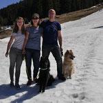 Der letzte Schnee in Österreich