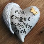 Gedenk Herz (Steinzeug)