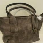 Shopper, Kunstleder, Farbe: grau, 44,95€, Meißner Straße und Königsbrück