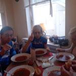 Middagsoep in Bramsche