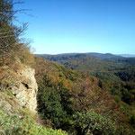 Vom Hohenstein nach links gesehen