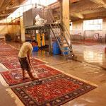 Teppichwäscherei