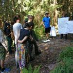 Naturpädagogik im National Park