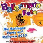 Ballermann Fete - Die Schlager Party auf Mallorca 2013 - Die Kult Opening Charts bis 2014 - Ursprüngliches Erscheinungsdatum : 26. April 2013