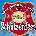 Die größten Hits für's Schützenfest, Vol. 4 - Ursprüngliches Erscheinungsdatum : 21. August 2013