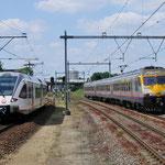 9 Juni 2015: Maastricht Randwijck / 395 Onderweg naar Hasselt links de 501 van Veolia.