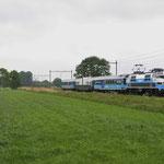 20 Mei 2016: Helvoirt / 1215 Met het  Panorama Rail Restaurant onderweg met een rondrit onderweg richting Den Bosch.