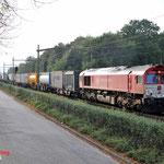 4 Oktober 2014: Eindhoven / DE 6308 CR met Novara Shuttle uit Geleen richting Venlo.