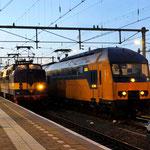 2 Februari 2014: Venlo / 1225 (1252) Met wintersporttrein naar utrecht rechts ddz treinstel 7537