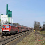 28 Februari 2015: Duisburg / 232 534 DB Met een kolentrein richting HKM.