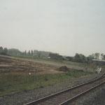 Boxtel : 7 Juli 1995 / Spoor richting veghel een stukje verlegd.