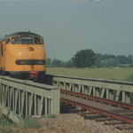 Liempde : 30 Juli 1995 / NS 128 en NS 147 Onderweg richting Veghel.