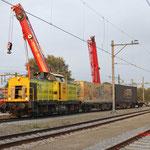 11 Oktober 2016: Eindhoven / 24 RRF Met 2 defecte wagens.