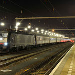 10 Januari 2014: Venlo / 189 997 TXL met de 2e wintersporttrein naar Oostenrijk