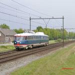 7 Mei 2017: Horst Sevenum / NSM Kameel onderweg vanuit Venlo naar het spoorwegmuseum in Utrecht.