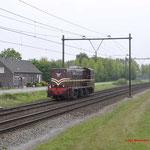 7 Mei 2017: Horst Sevenum / SMMR 2225 onderweg vanuit Venlo naar Rotterdam goederen.