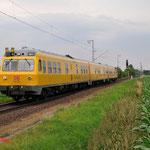 4 Juli 2014: Breyel / 719 501 DB Netz richting Kaldenkirchen