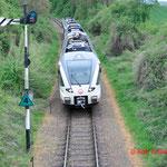 26 April 2014: Wijlre / 205,203 Met de NVBS Koningsdagrit met een schijn vertrek richting Wijlre station
