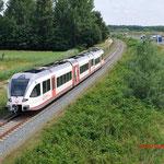 7 Juli 2014: Swalmen / 353 Als stoptrein naar Roermond.