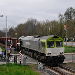 13 April 2015: Born / 6609 CT Met de lege kolentrein naar Born