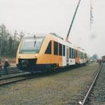Veghel: 28 Maart 2005 / Syntus Lint klaar voor vertrek richting Boxtel.