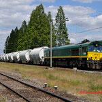 25 Juni 2014: Geleen Lutterade / PB 06 RRF met lege dolime richting Maastricht