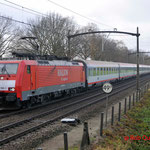 28 November 2011 : Mierlo / 189 100 DBS Met unit-cargo (45719) naar keulen gremberg